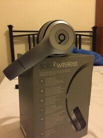 Dr Dre beats Solo 2 Wireless Grey
