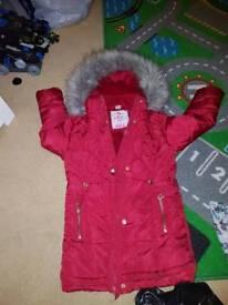 Girls jacket padded