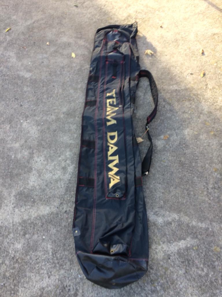 Black team daiwa holdall