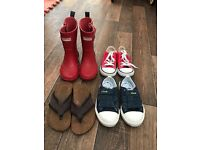 Infant Hunters Converse Clarks and Next 8.5 & 9