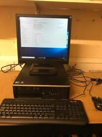 HP Compaq 8000 Elite with Monitor, Keyboard and Mouse £120