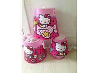 Hello Kitty table lamp, lampshades NEW