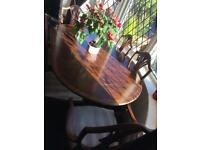 Dining Room Extendable Table And 6 Chairs