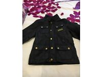 Girls authentic Barbour jacket
