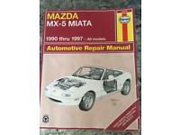 Haynes Manual - Mazda MX-5