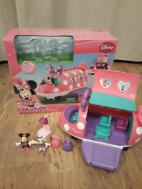 Minnie Mouse Polka Dot Jet - Boxed