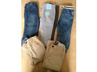 BOYS TROUSER BUNDLE MOST NEW