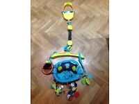 Bright Starts Bounce 'n' Spring Deluxe Door Jumper. Like new, minimally used. No wear and tear.