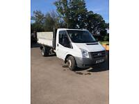 Ford transit tipper 350-115 bhp 2010 low miles Choice of two