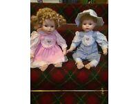 Beautiful Vintage Porcelain Dolls