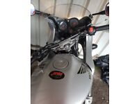 Honda hornet 600s in silver good condition mot v5 and 2 keys front fairing need to swsp or px