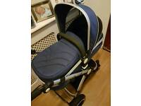 Isafe navy pram