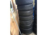 Mini Steel wheel with get you home tyre 175/65 r 15 on 4 stud wheel 8 to choose from