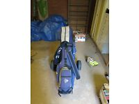 Dunlop Max Clubs, Bag, Trolley etc - FINAL REDUCTION