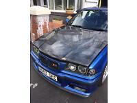 BMW E36 M3 318i 325i 328i SEIBON CARBON FIBRE BONNET