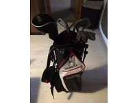 Set of Yonex golf clubs