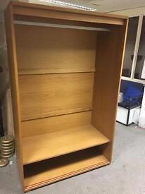 CHEAP oak double wardrobe TODAY only RRP£895