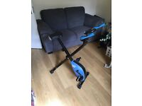 We R Sports Folding Magnetic Exercise Bike