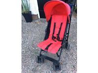 Red Pram/ Stroller