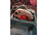 Makita 110v saw