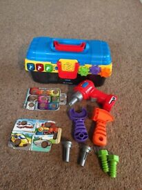 VTech My first toolbox - excellent condition