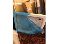 Quadrant shower tray 1000x800