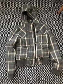 Top shop coat size 8