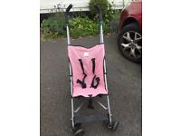maclaren childs buggy / like new / only used as granny spare