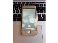 Good Unlocked Apple iPhone 6 16GB Gold SmartPhone Mobile Phone + Original Charger, USB + Free Sim!