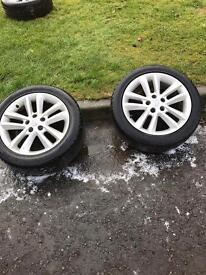 Vauxhall sri alloys x4