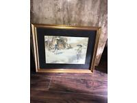 Home clear out paintings in frames