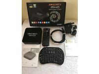 Droibox MXQ smart android TV box + qwerty remote