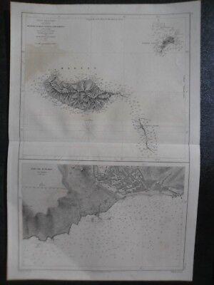 Map Madere Funchal, porto santo Camacha. islands océano Atlántic