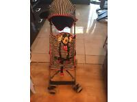 Mothercare Mickey Mouse stroller / pushchair almost new