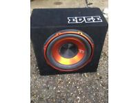 Brand new Edge 12 inch subwoofer with built in amp mono block