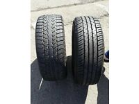 """2 set of 16"""" A grade part worn tyre for just £45"""
