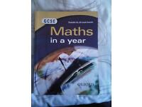 GCSE Maths In A Year with poster