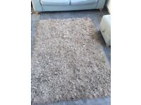Large shaggy Rug, taupe