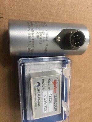 1 X Norbar Torque Transducer 25 Lb Model 50439 Ets