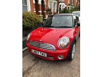 RED 1.6L Mini Cooper 07 Reg, 9 mths MOT & PSH