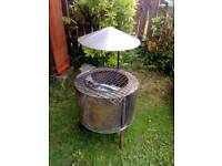 Fire pit for garden or camping