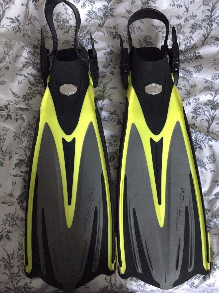 TUSA Tri-Ex Fins - Size S