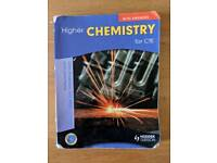 Higher Chemistry Textbook and Past Papers