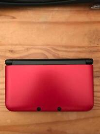 3DS XL Red plus games