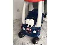 Little Tikes Cozy Coupe GB Limited Edition