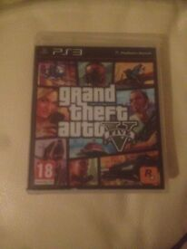 Gta V PS3 works perfectly no scratches