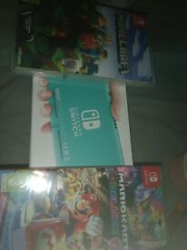 Brand new switch with 2 games