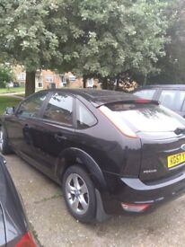 Ford focus in Good condition, windscreen need changing and like 2 dents at the back