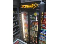 Lucozade Soft Drink Fridge for Retail