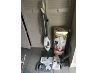 SHARK PROFESSIONAL STEAM CLEANER 3 settings also handheld BOX ALL ACCESSORIES SOME UNUSED